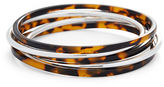 Ralph Lauren Steel-Resin Bangle Set