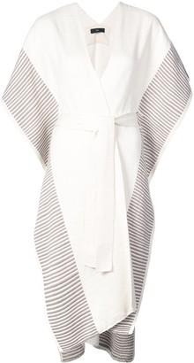 Voz Striped Edge Kaftan Dress