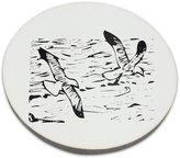 Fotomax Coaster with An image of birds flying in the ocean.