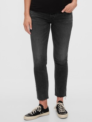 Gap Maternity Full Panel Cigarette Jeans