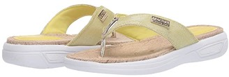 Kenneth Cole Reaction Ready Thong Espadrille (White) Women's Shoes