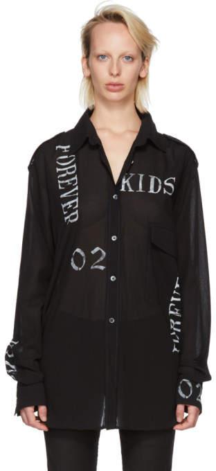 Ann Demeulemeester Black Forever Shirt