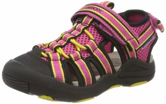 Geox Girls J Sandal Kyle Closed Toe