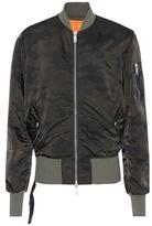 Unravel Camouflage bomber jacket