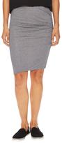 Splendid Shirred Pencil Skirt