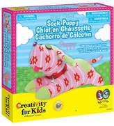 Creativity For Kids Sew Cute Sock Puppy Kit