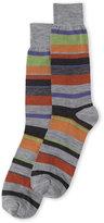 Lorenzo Uomo Wool Multi Stripe Socks