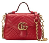 Gucci GG Matelasse Leather Top Handle Bag