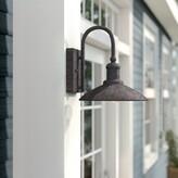 "Birch Lane Birch LaneTM Heritage Romsey Outdoor Barn Light Heritage Size: 10"" H x 9"" W"
