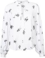 A.L.C. printed shirt - women - Silk - 8