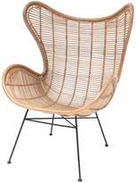 Ciel Rattan Egg Chair, Arm Chair Braided Rattan