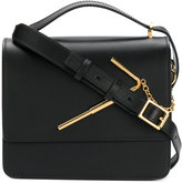 Sophie Hulme satchel with gold-tone hardware