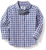 Old Navy Gingham Shirt & Bow-Tie Set for Toddler Boys