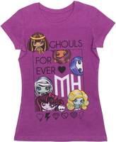 """Monster High Girls """"Ghouls Forever"""" Short Sleeve T-Shirt, Cactus Flower"""