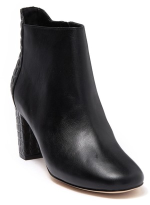 Cole Haan Nella Snake Embossed Leather Bootie