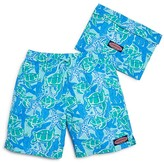 Vineyard Vines Boys' Turtle Starfish Bungalow Swim Trunks - Sizes 8-16