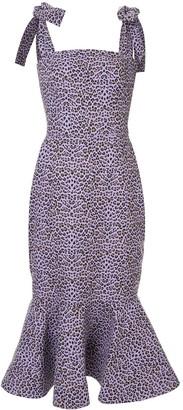 Bambah Leopard mermaid dress