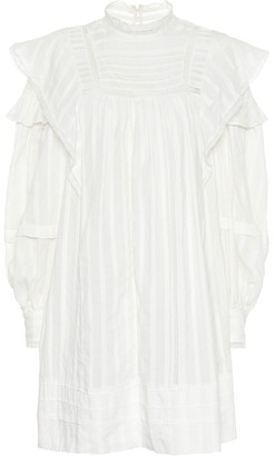 Etoile Isabel Marant Patsy ruffled lace mini dress