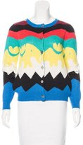 Opening Ceremony Knit Patterned Cardigan