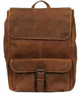 Wilsons Leather Mens Thunder Laptop Leather Backpack Cognac