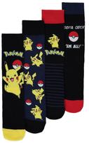 George Pokemon 4 Pack Socks