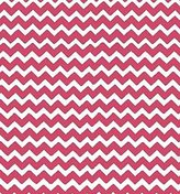 Stokke SheetWorld Fitted Oval Mini) - Hot Pink Chevron Zigzag - Made In USA - 58.4 cm x 73.7 cm ( 23 inches x 29 inches)