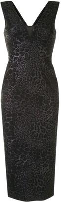 Manning Cartell Australia Leopard Jacquard Midi Dress