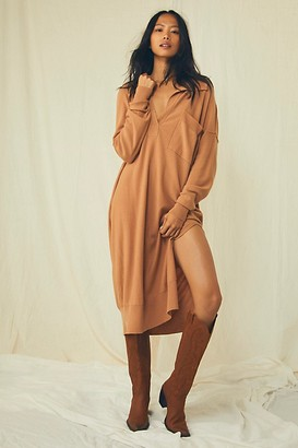 We The Free The Luxe Polo Sweater Dress
