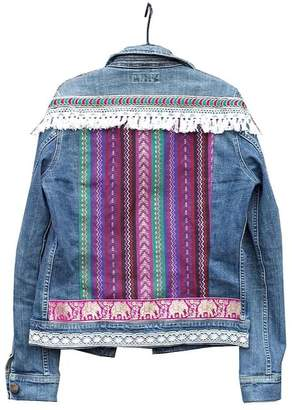 Anyo Stories - Indian Glamour Embellished Denim Jacket - ONESIZE | denim | blue - Blue/Blue