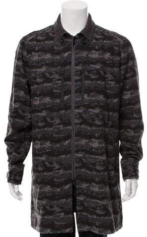White Mountaineering Wool Zip-Up Jacket