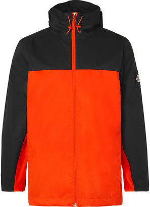 The North Face Mountain Q Colour-Block Waterproof DryVent Hooded Jacket - Men - Orange
