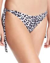Vince Camuto Animal-Print Side-Tie Swim Bottom