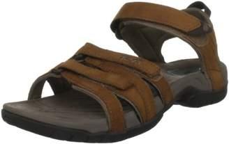 Teva Women's Tirra Leather Sandals, Brown (Rustique Rust), (37 EU)