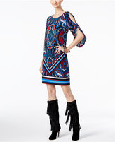 INC International Concepts Petite Printed Sheath Dress, Only at Macy's