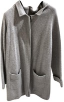 Hotel Particulier Grey Cashmere Jacket for Women