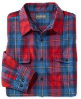 L.L. Bean Signature Castine Flannel Shirt, Plaid
