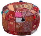 Surya Round Handmade Pouf
