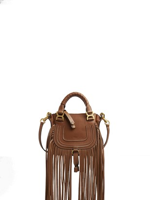 Chloé Fringed Marcie Tote Bag