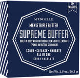 Spongelle Mini Men's Supreme Buffer - Cedar Absolute