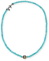 Armenta Old World Midnight Beaded Magnesite Necklace