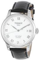 Tissot Men's TIST41142333 Le Locle Analog Display Swiss Automatic Black Watch