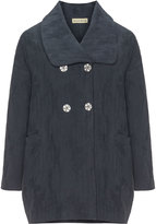 Isolde Roth Plus Size Turn-down collar coat