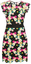 Milly floral-print sleeveless dress
