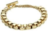 French Connection Medium Box Chain Bracelet
