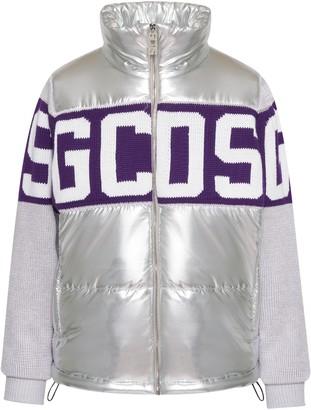GCDS Logo Knit Bomber