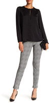 Bobeau Kirsten Houndstooth Plaid Pants