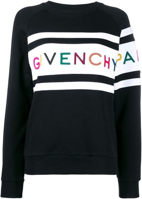 Givenchy Logo Embroidered Sweatshirt