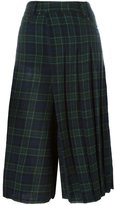 R 13 layered kilt trousers