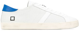 D.A.T.E perforated sneakers