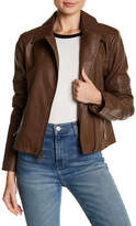 Levi's Faux Leather Asymmetrical Moto Jacket
